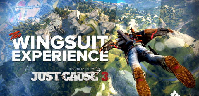 Experience the Freedom of the Just Cause Wingsuit