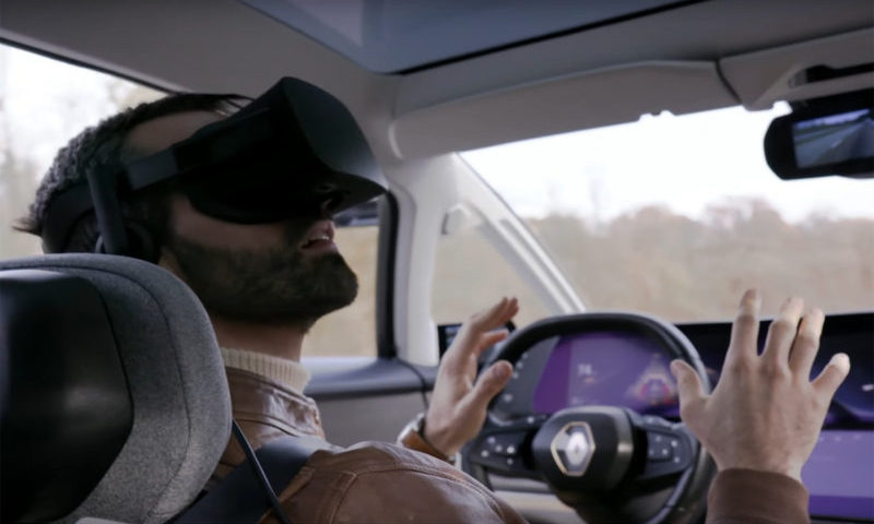 Ubisoft and Renault Bring VR to the Open Road