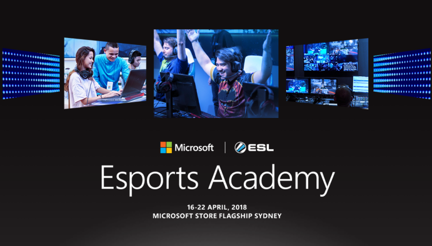 School Time for Potential esport Stars Thanks to Microsoft
