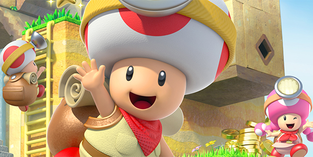 Player 2 Plays - Captain Toad Treasure Tracker