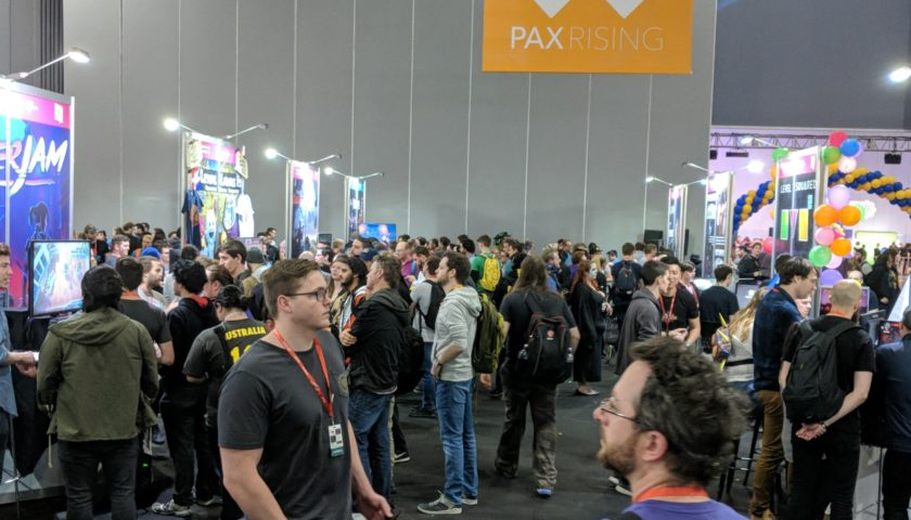 From the PAX AUS Showroom Floor - Adam's Indie Wrap