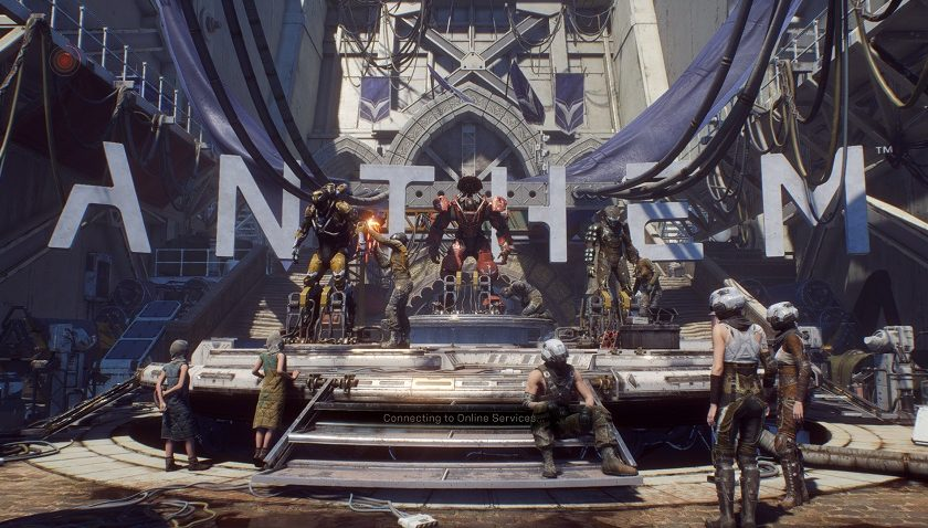 Ten Hours into Anthem