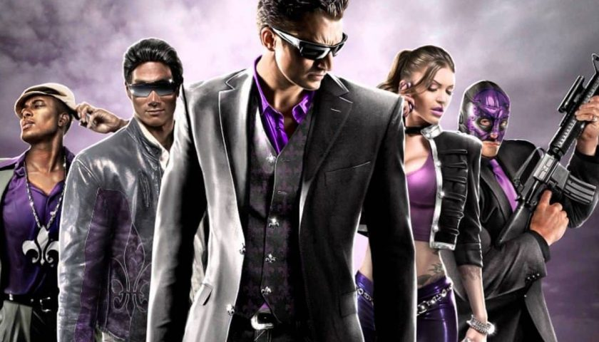 Saints Row: The Third - Paint Your Switch Purple