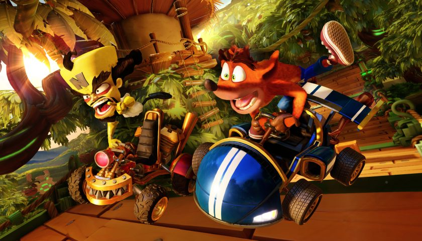 Crash Team Racing Drives into the Endgame