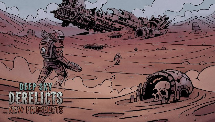 Deep Sky Derelicts: New Prospects - Floating In Space
