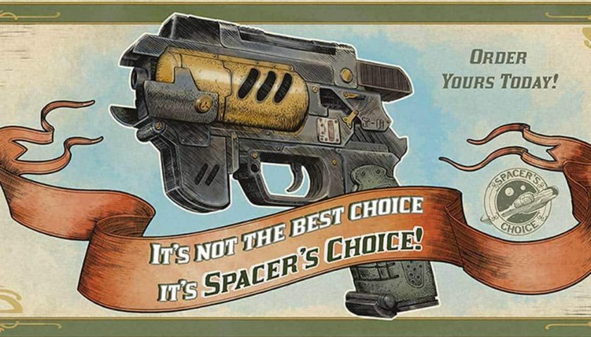 Journey to the Outer Worlds - Down With Spacer's Choice