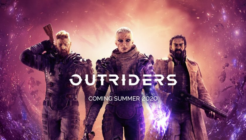 Outriders Makes its Gameplay Debut