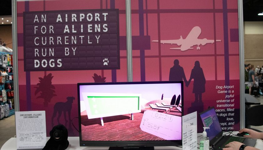 Indie Boost - An Airport for Aliens Currently Run by Dogs