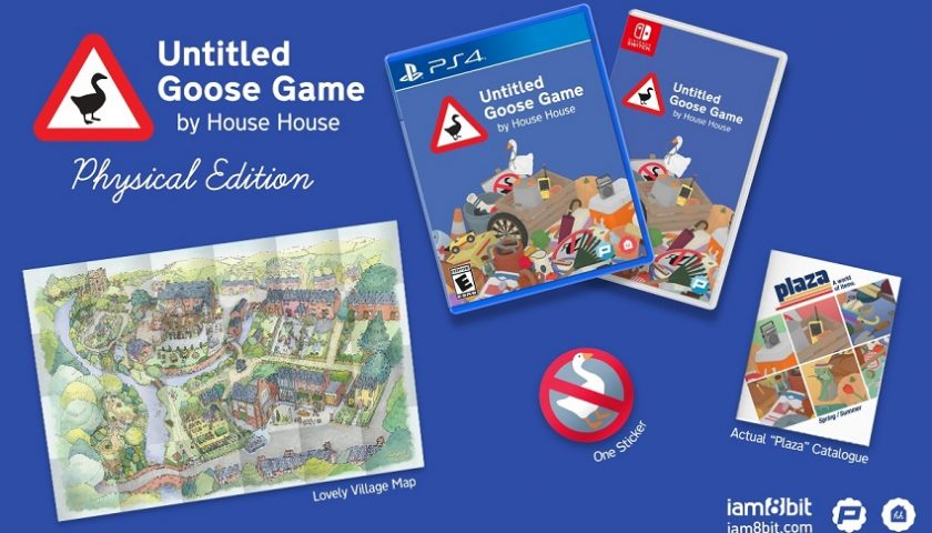 Untitled Goose Game Gets Physical Release