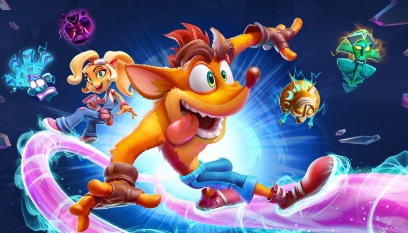 Crash Bandicoot 4, its about time, player 2, news, activitions, shaun nicholls,