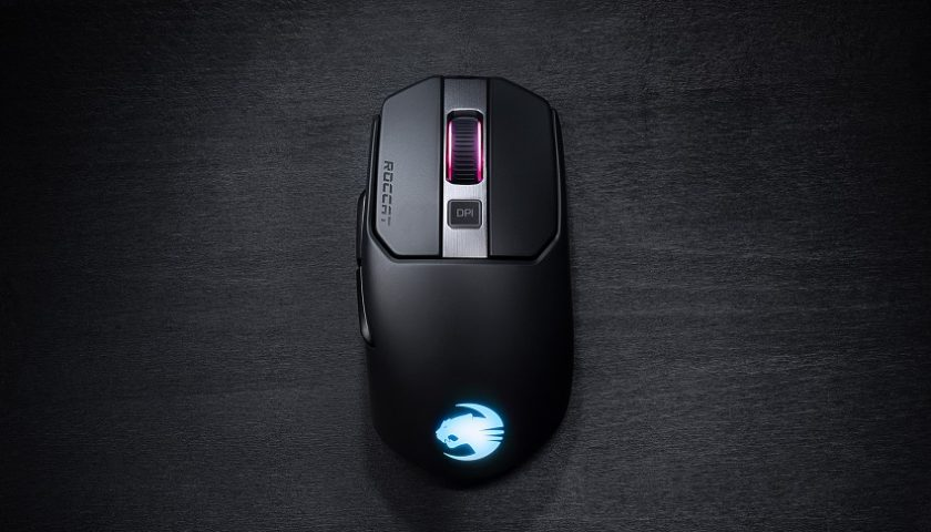 Roccat Kain 200 Wireless Titan-Click RGB Gaming Mouse - A Mouse for all Occasions
