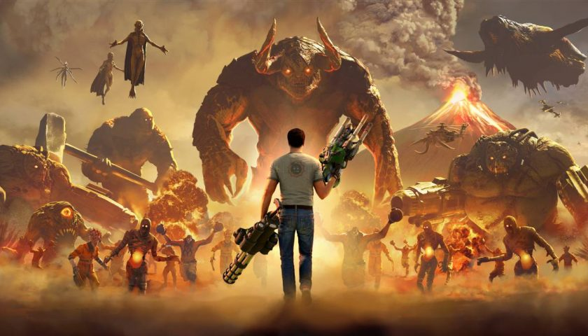 Serious Sam 4 - Let's Do The Time Warp Again.