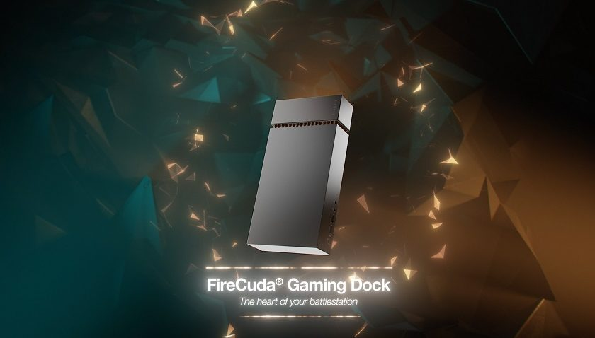 Seagate Firecuda Gaming Dock - Bringing the Desktop to your Laptop.