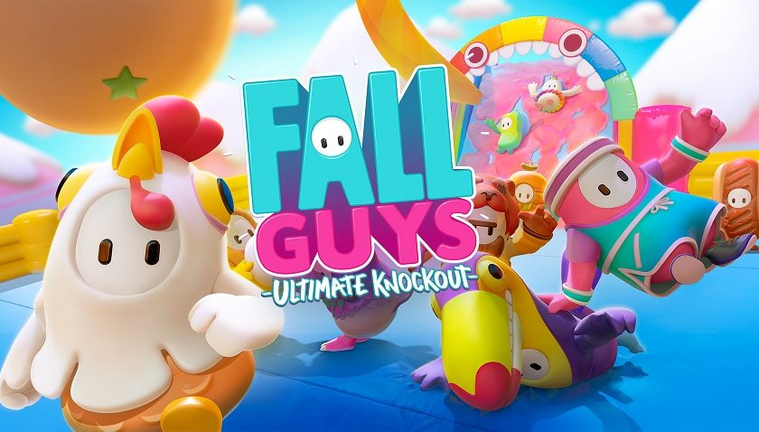 Fall Guys - I Get Knocked Down But I Get Up Again