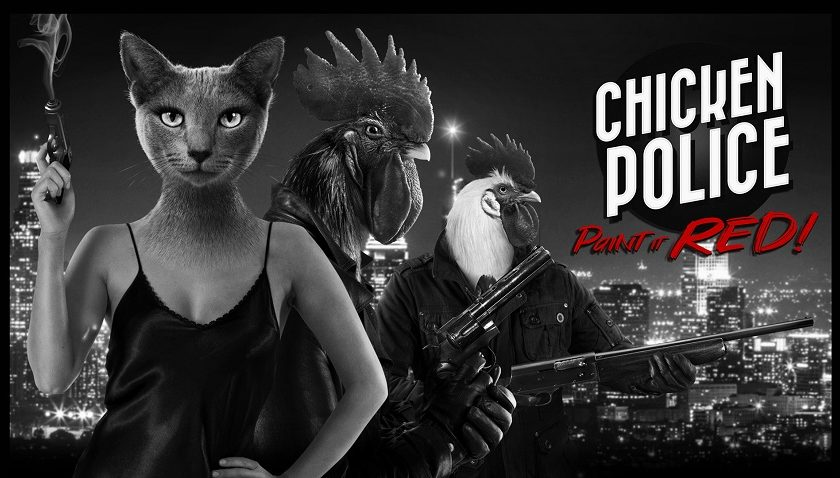 Chicken Police: Paint it Red - Cluckin' Hell