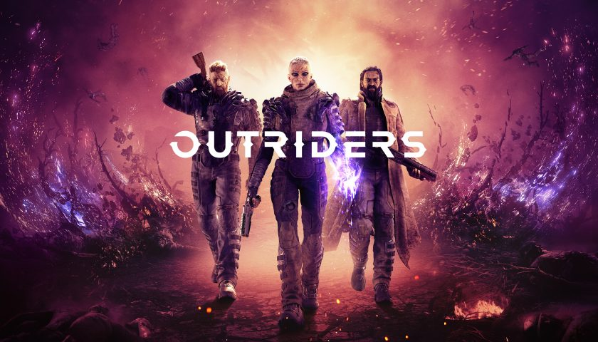 Outriders promo art
