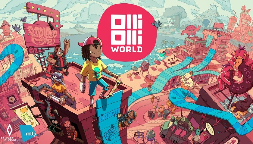 OlliOlli World - Bringing The Tricks to the Third Dimension