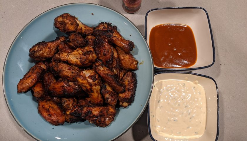 Hot Sauce of Oblivion Recipe 1 - Grilled Chicken Wings