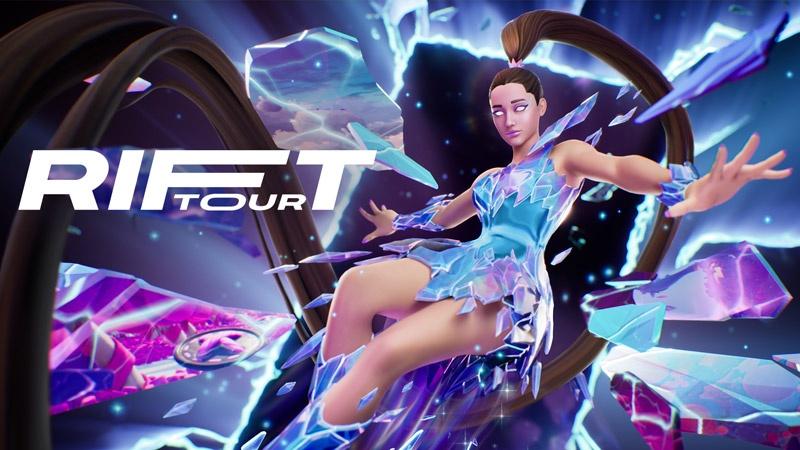 Grande Addition to Fortnite's Rift Tour