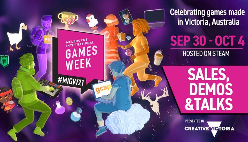 Melbourne International Games Week Gets Steamed